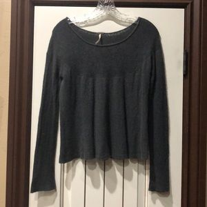 Free People Soft Gray Sweater